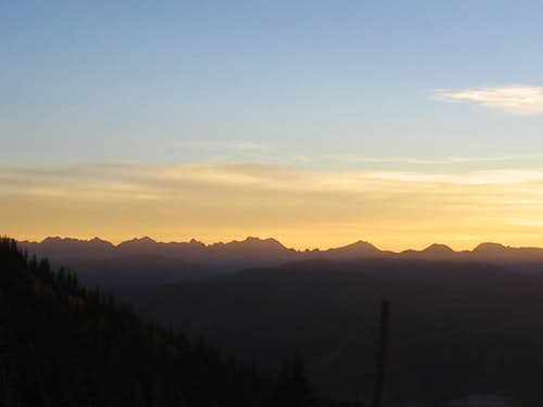 Gore Range at Dawn