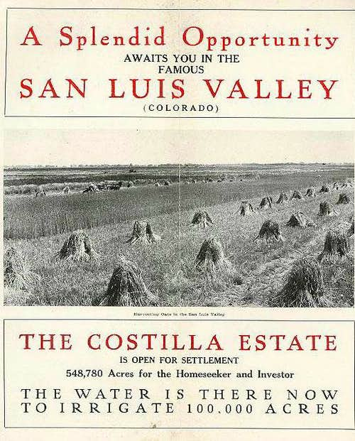 The Costilla Estate...