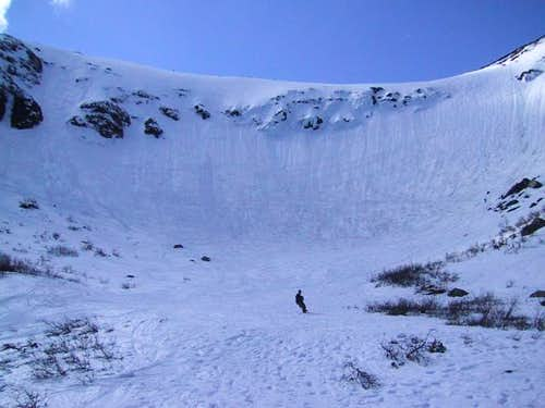 Tuckerman's Ravine in early...