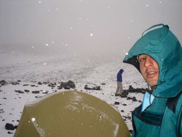 Base Camp Cerro Plomo- 4200 m