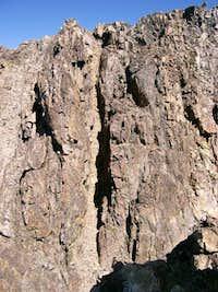 Cazy Peak Chimney