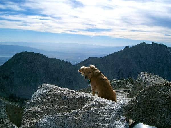 Bearclaw and Lone Peaks looming ahead