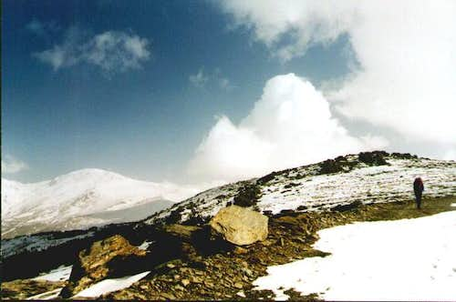 On the way up Mulhacen from...