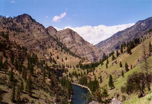 Beginning of Impassable Canyon