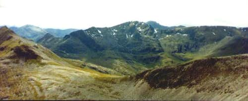 From the Grey Corries, with...