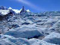 Cerro Torre from the glaciar