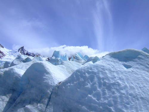 Glaciar below Cerro Torre