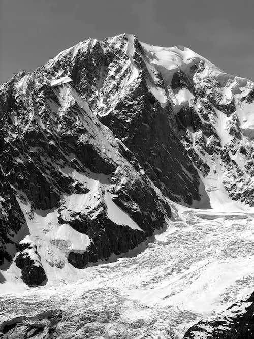 Il Monte Bianco...