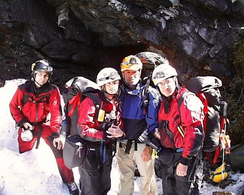 Climbing & Caving in Newfoundland