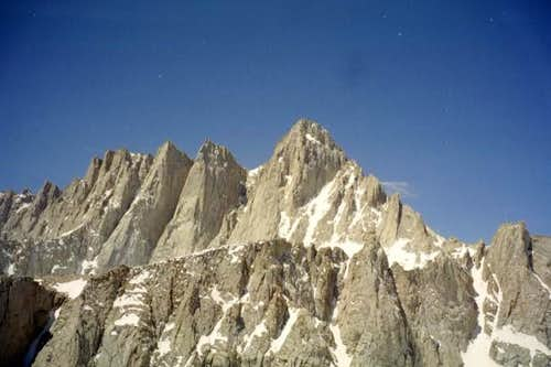 Mount Whitney from a shoulder...