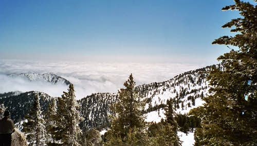 Clouds from Wellman\'s Divide