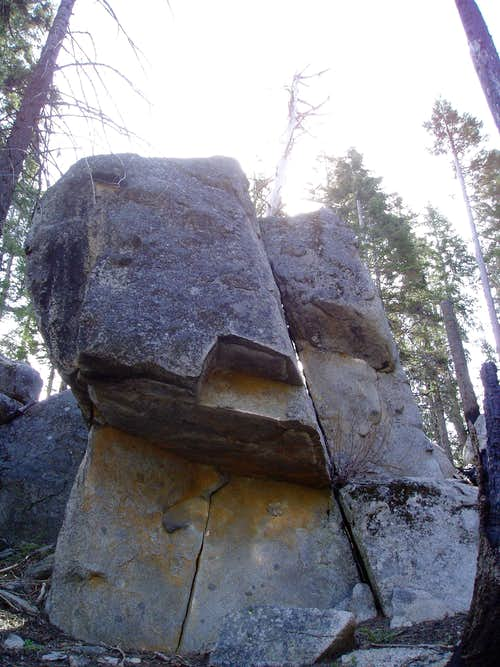 The Roof Boulder