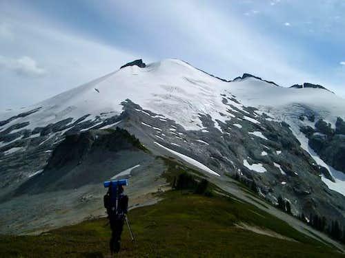 Approaching Ruth Mountain