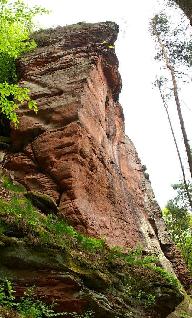 Drei Felsen, Mittelgipfel