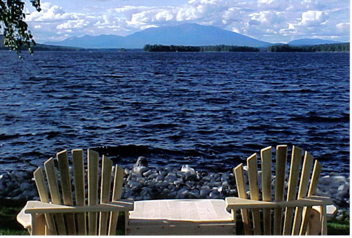 ... Adirondack Chairs Lake