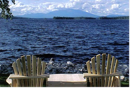 Ktaadn Group with Adirondack Chairs