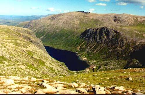 Loch Avon from the Cairn Gorm...