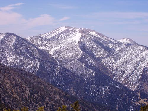 San Gorgonio from the West