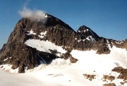 Piz Buin seen from the...