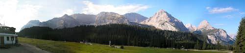 Ehrwalder Alm Panorama