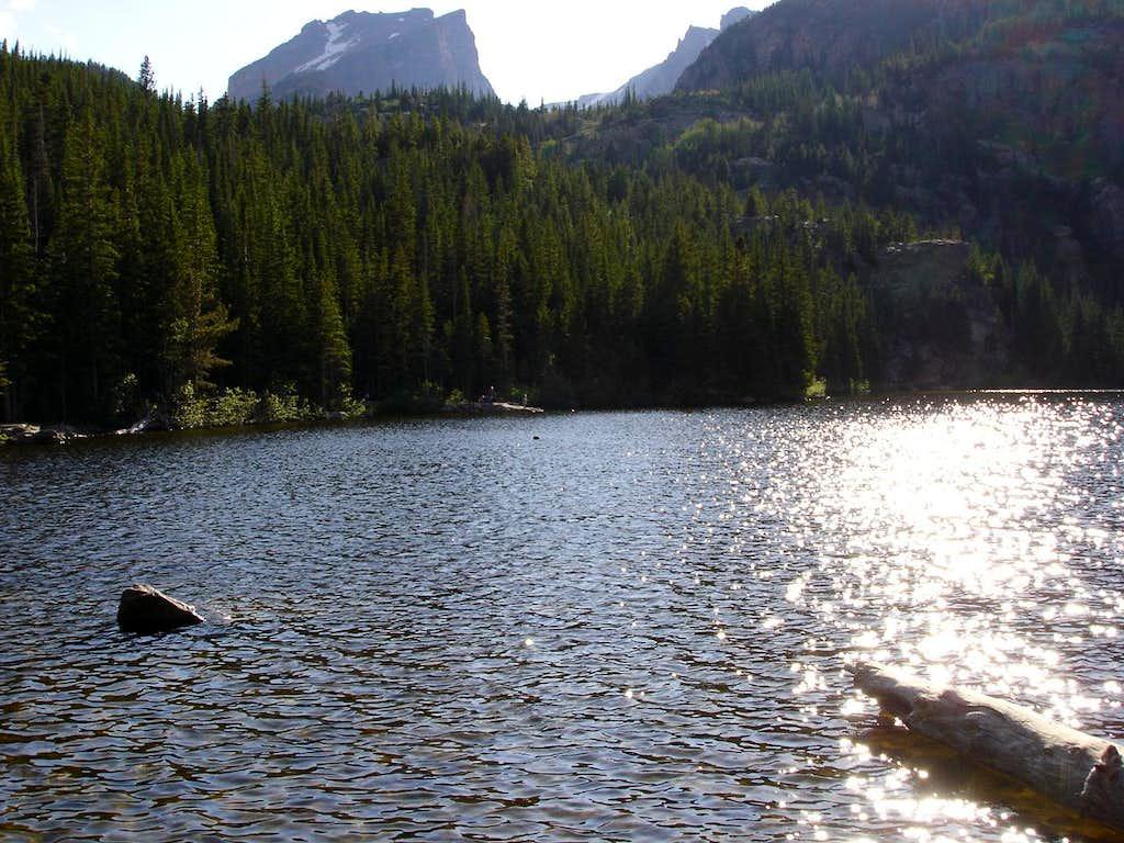 Bear Lake w/ Hallet Peak