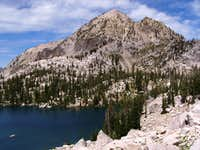 Mount Everly and Plummer Lake