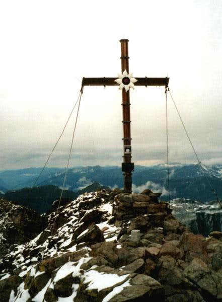 Summitcross of the Hohes Rad...