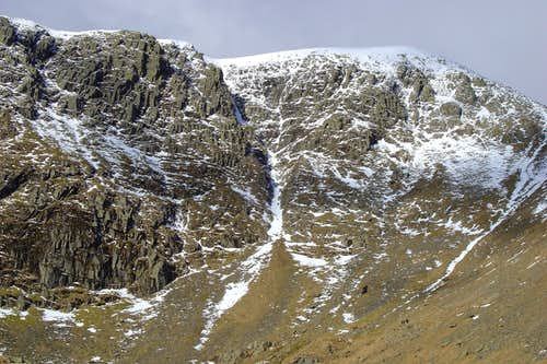 view of Swallow/ Nethermost gully