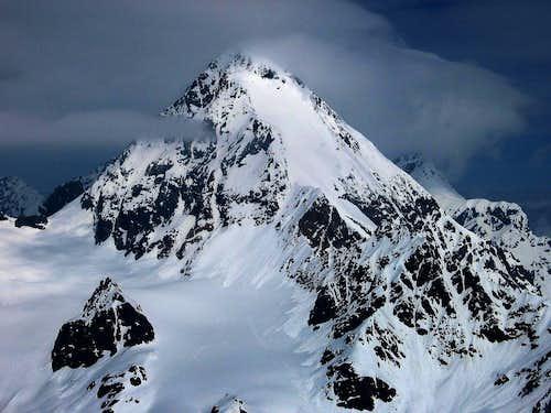 Gran Zebru' seen from Monte Pasquale