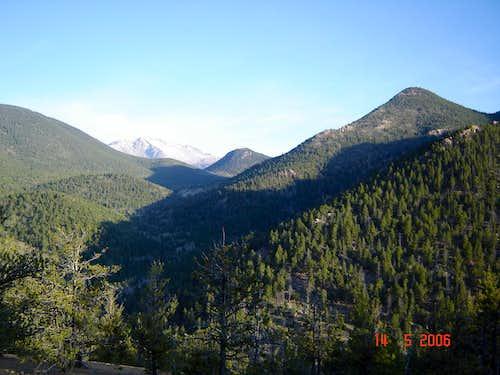 Looking toward Pikes Peak