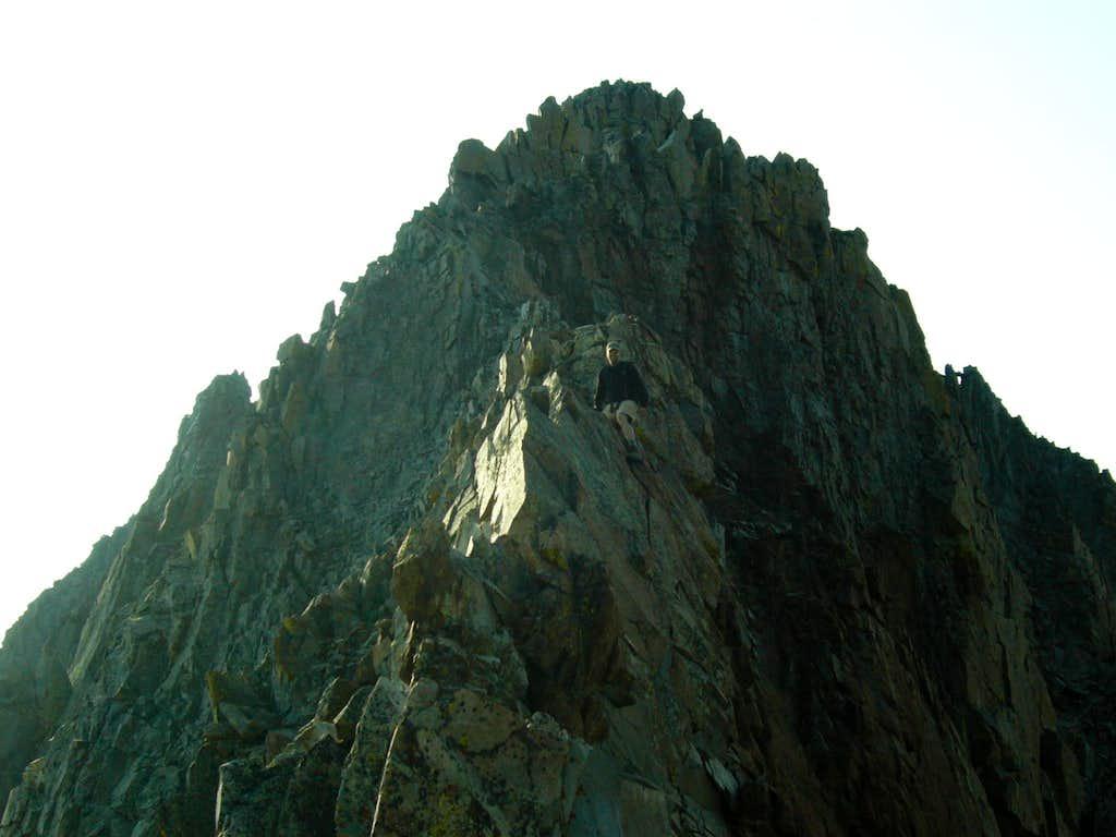 West Ridge Crux