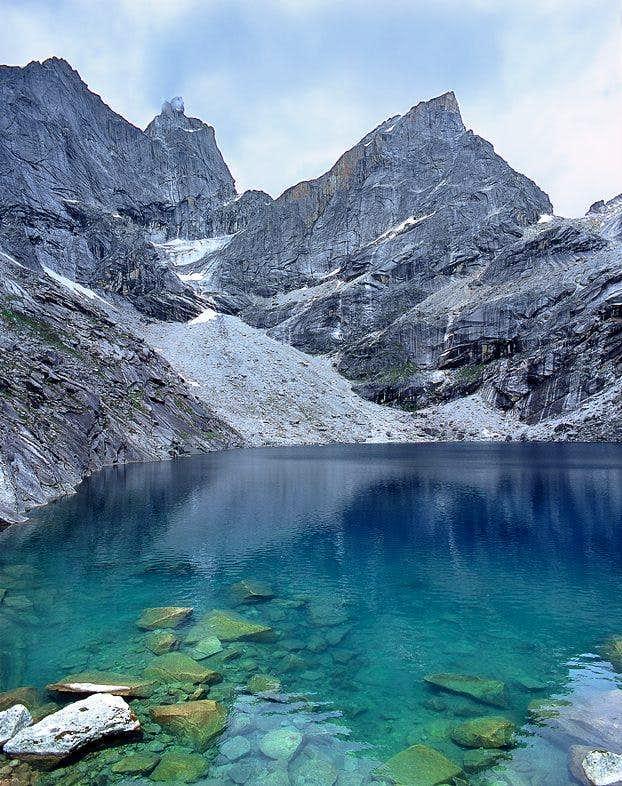 Chibu Lake 4600m : This is...