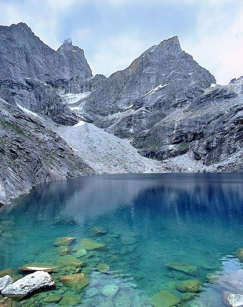 Chibu Lake 4600m : This is...