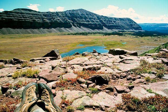 Squaw Pass & My Feet