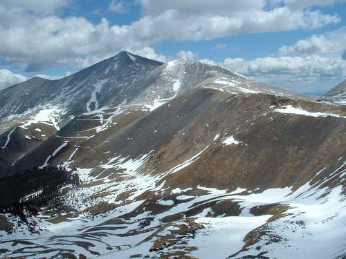 Looking Back at Mount Antero