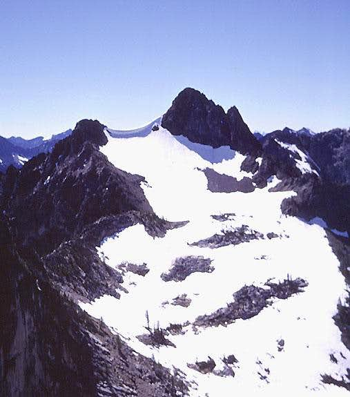 Blue Lake Peak from the north.