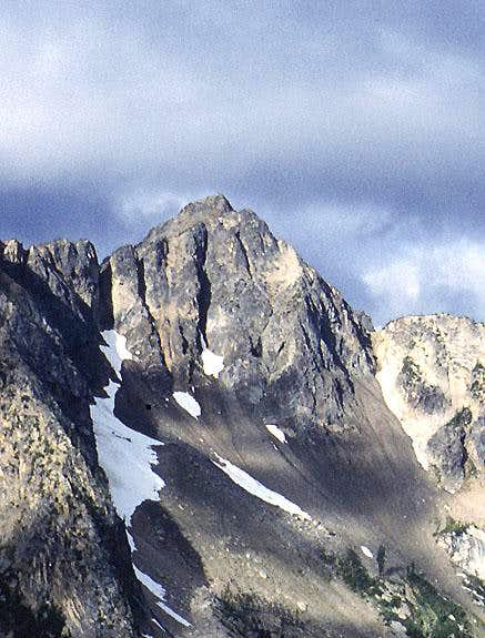 Blue Lake Peak from the east.