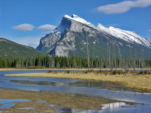 Mt Rundle, Vermillion Lakes