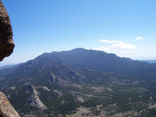 A standing ariel view...