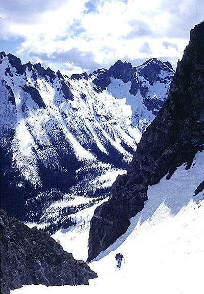 Blue Lake Peak - approach