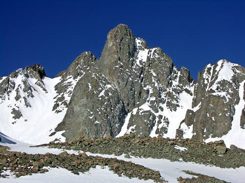 Nokhu Crags, North Summit