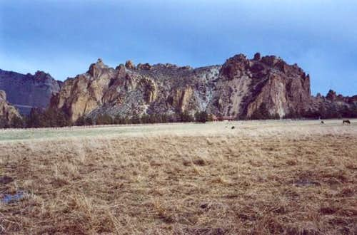 The Smith Rock Group as seen...