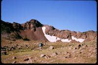 Sawtooth Peak looking...