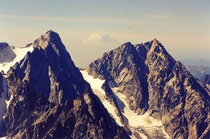 Dragontail Peak and Colchuck...