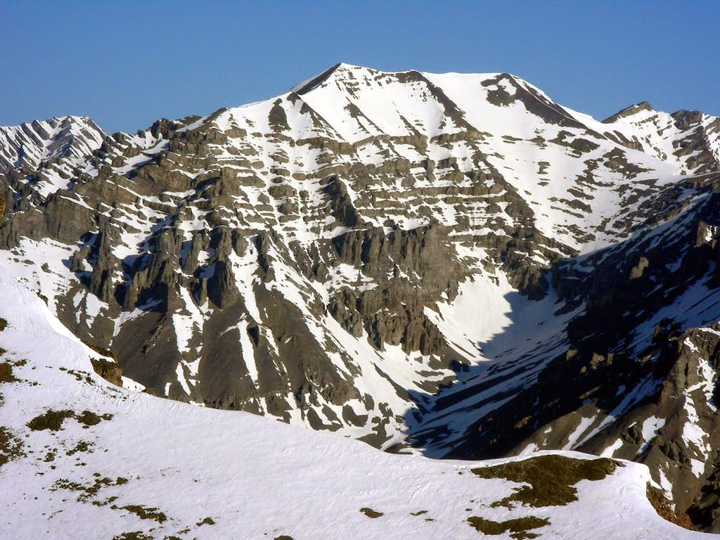 Lost River Peak's East Face