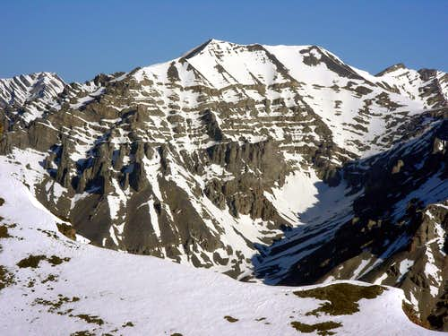 Lost River Peak's East Face