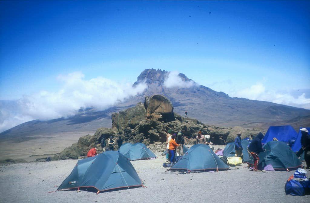 Kibo Hut Camp