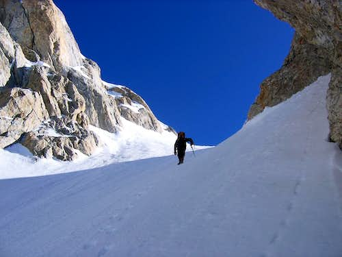 Approaching the Col
