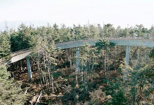 Clingmans Dome ramp