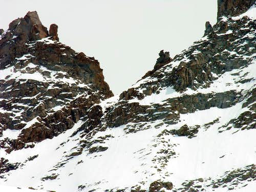 Colle Bonney <i>(3587 m)</i> seen from West